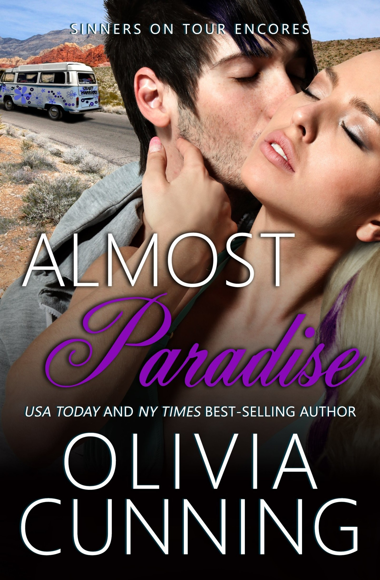 Read Almost Paradise (Sinners on Tour Book 8) by Olivia Cunning
