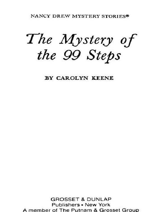 Read The Mystery of the 99 Steps by Carolyn G  Keene online