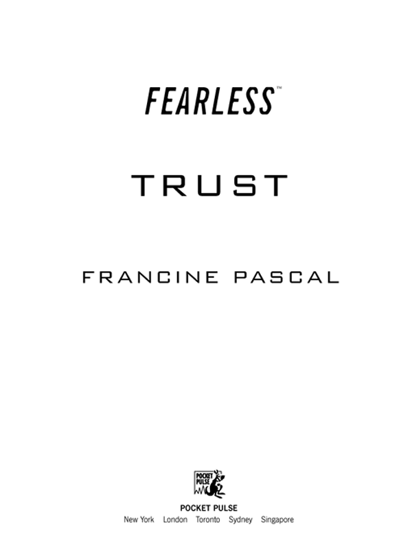Read Trust by Francine Pascal online free full book